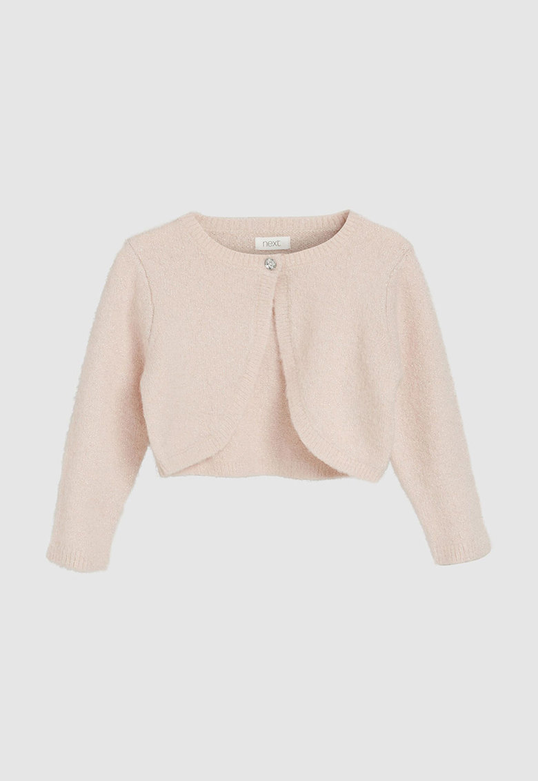Bolero din tricot cu insertii de lurex