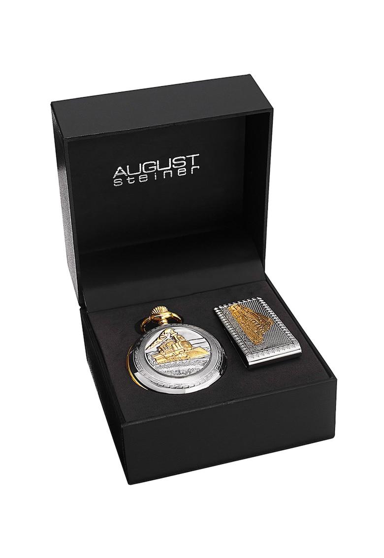 Set de ceas de buzunar cu clips pentru curea