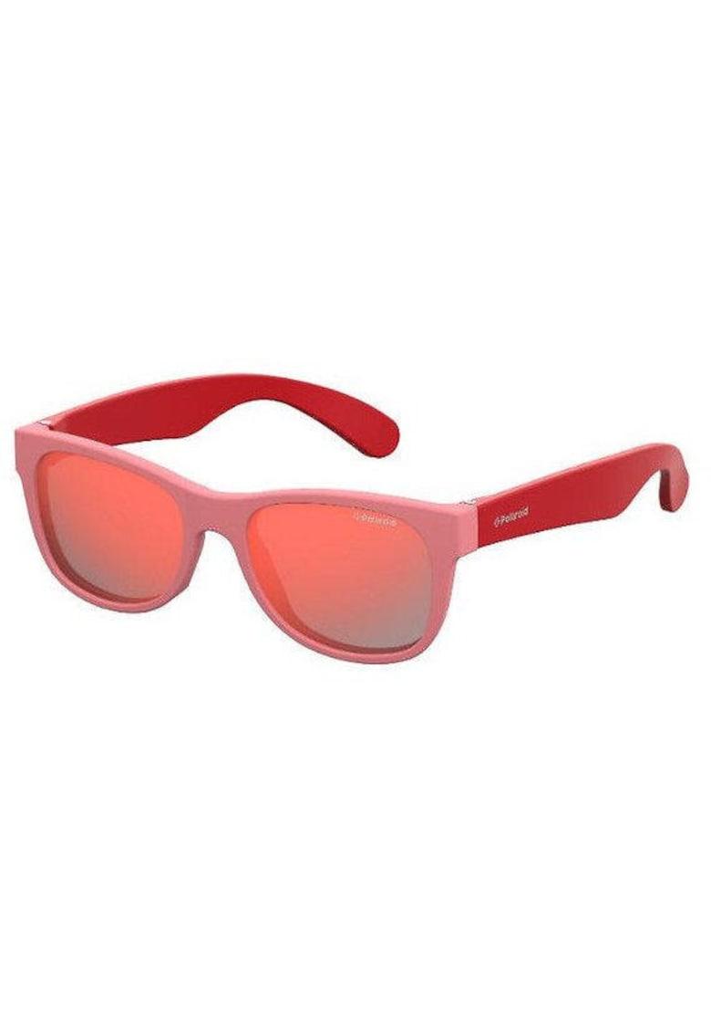 Ochelari de soare cu lentile polarizate si brate contrastante imagine fashiondays.ro Polaroid