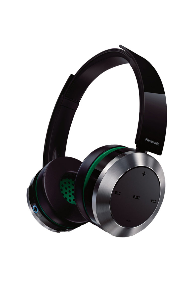 Casti audio wireless cu banda - Negru