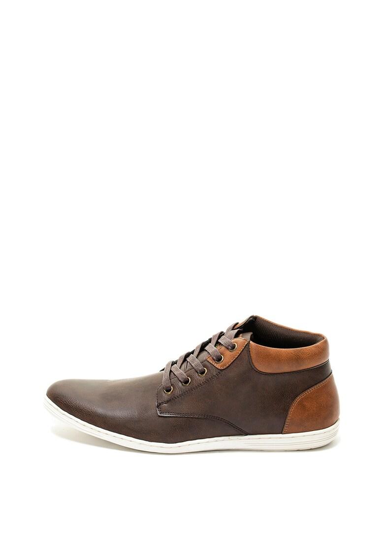 Pantofi de piele ecologica Ortal