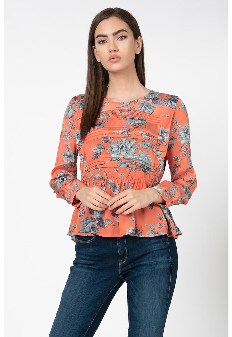 Bluza din viscoza cu imprimeu floral de la Pepe Jeans London