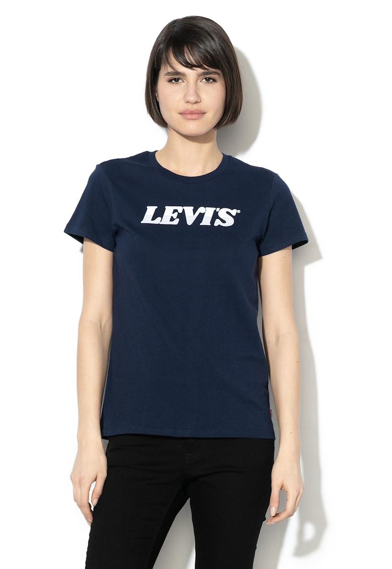 Tricou cu imprimeu Logi