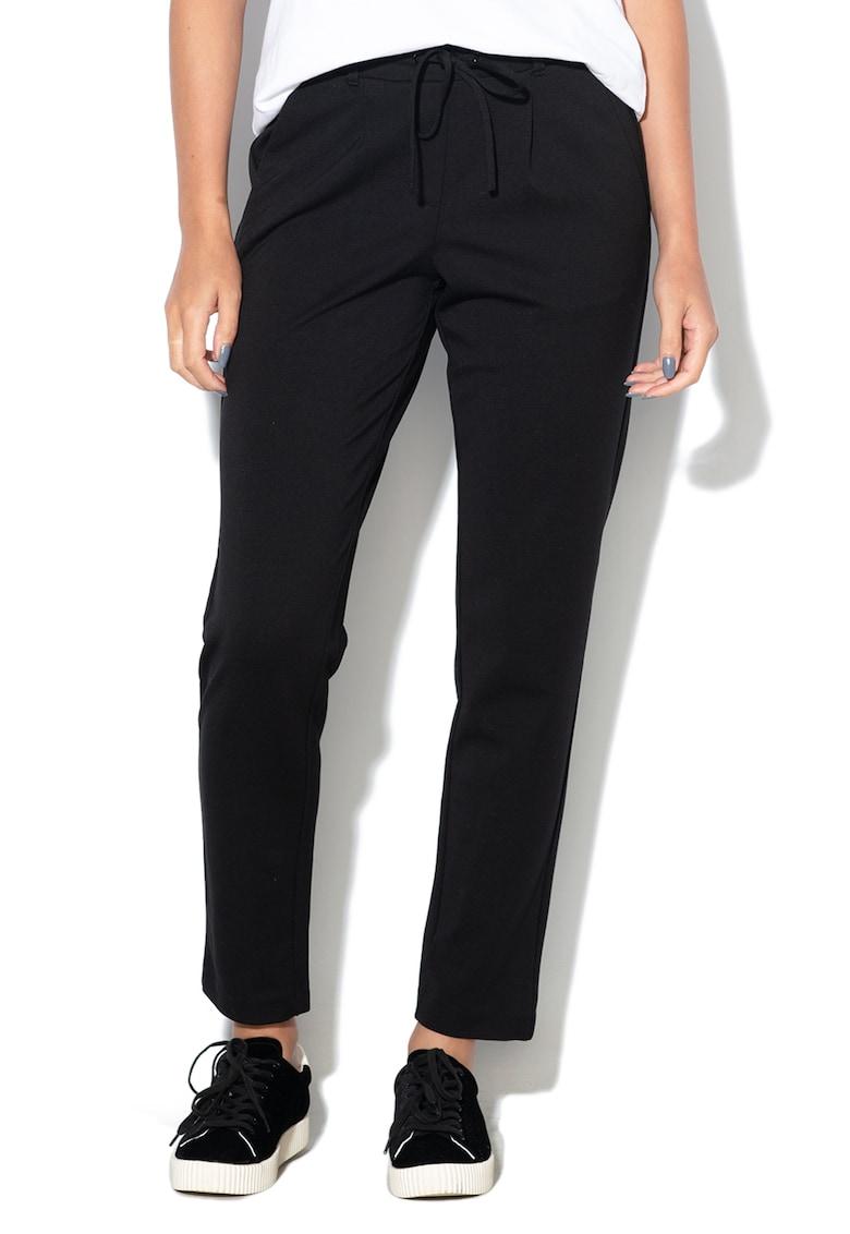 Pantaloni conici cu snur pentru ajustare imagine