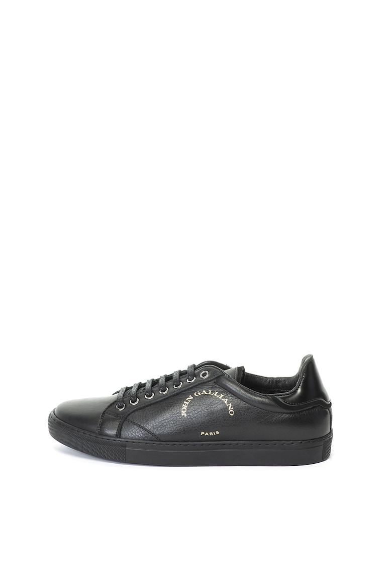 Pantofi sport de piele John Galliano