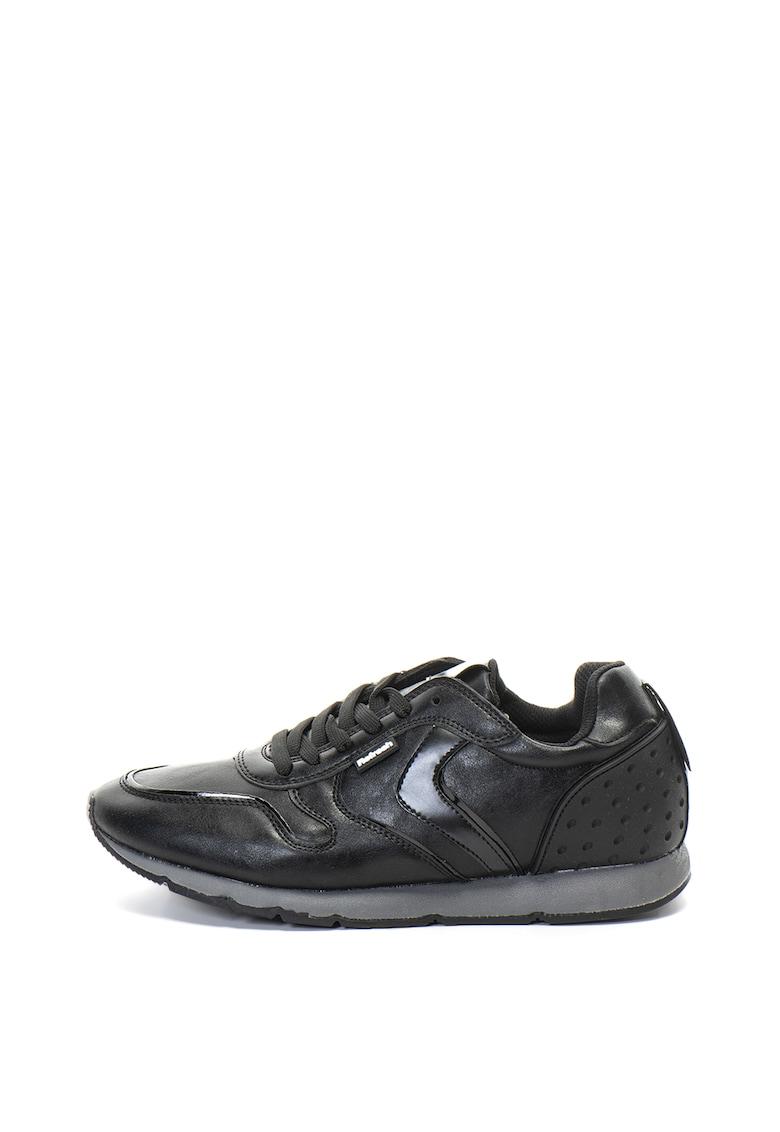 Pantofi sport de piele ecologica