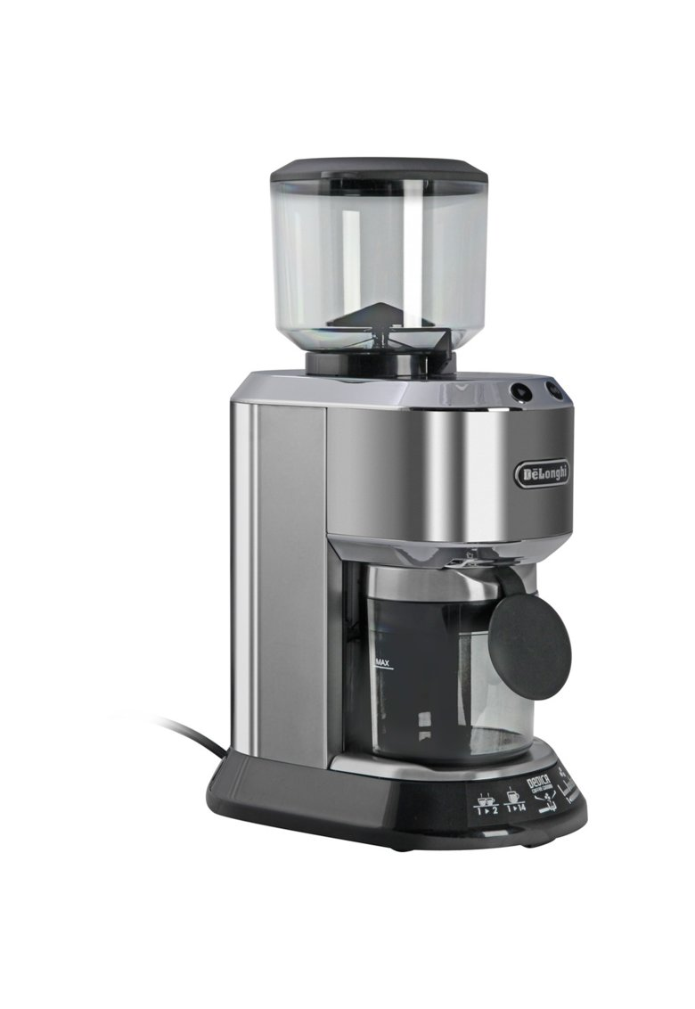 Rasnita de cafea De'Longhi Dedica KG 521 M - 150 W - 350 g - Negru - Argintiu imagine fashiondays.ro