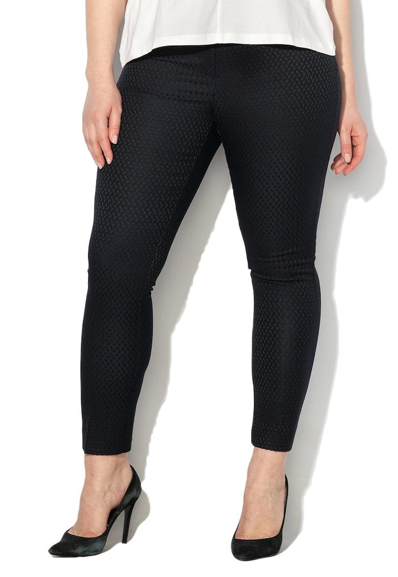 Pantaloni cu aspect texturat Ramo
