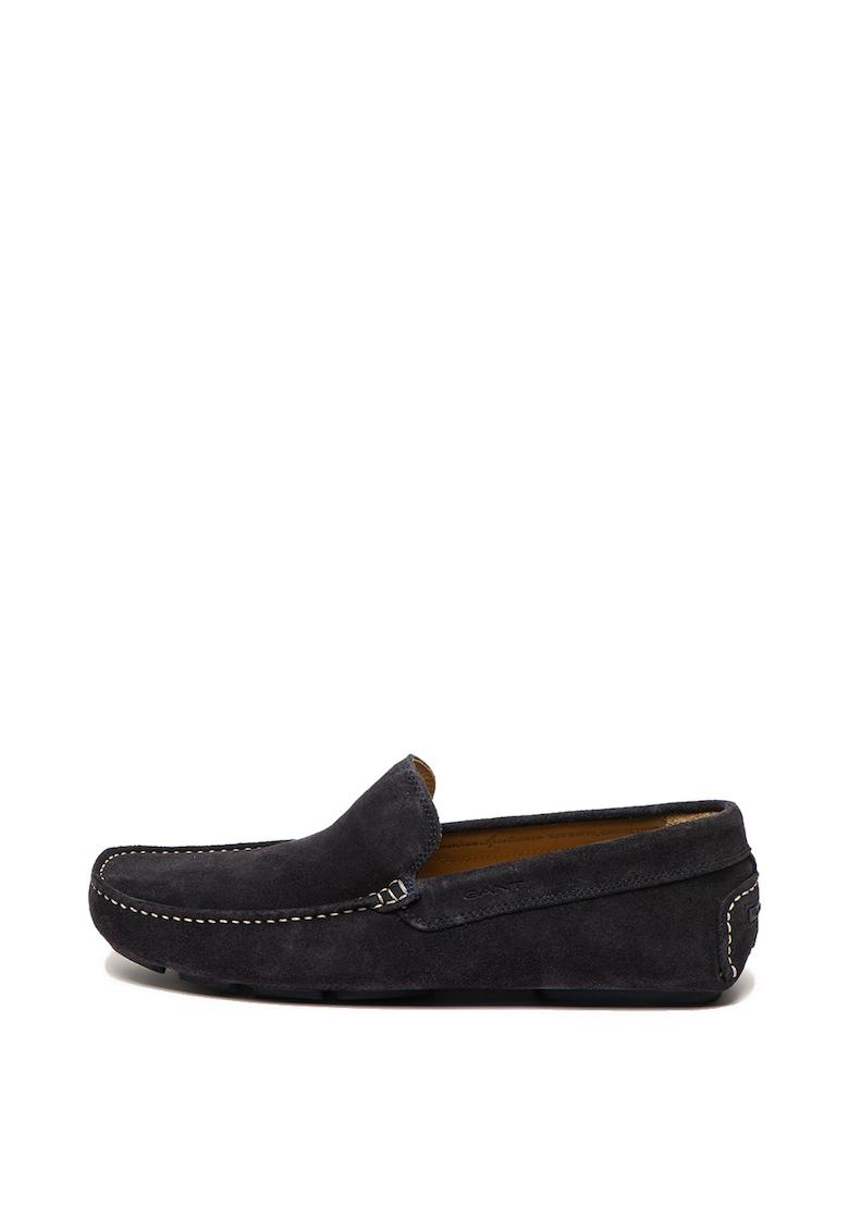 Pantofi loafer de piele intoarsa Austin