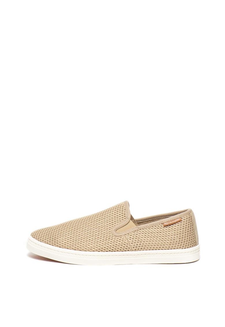 Pantofi loafer slip on - texturati de la Gant