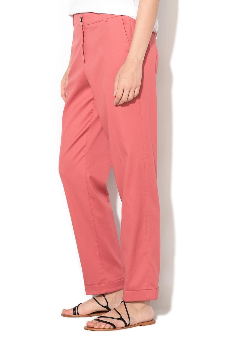Pantaloni conici din lyocell