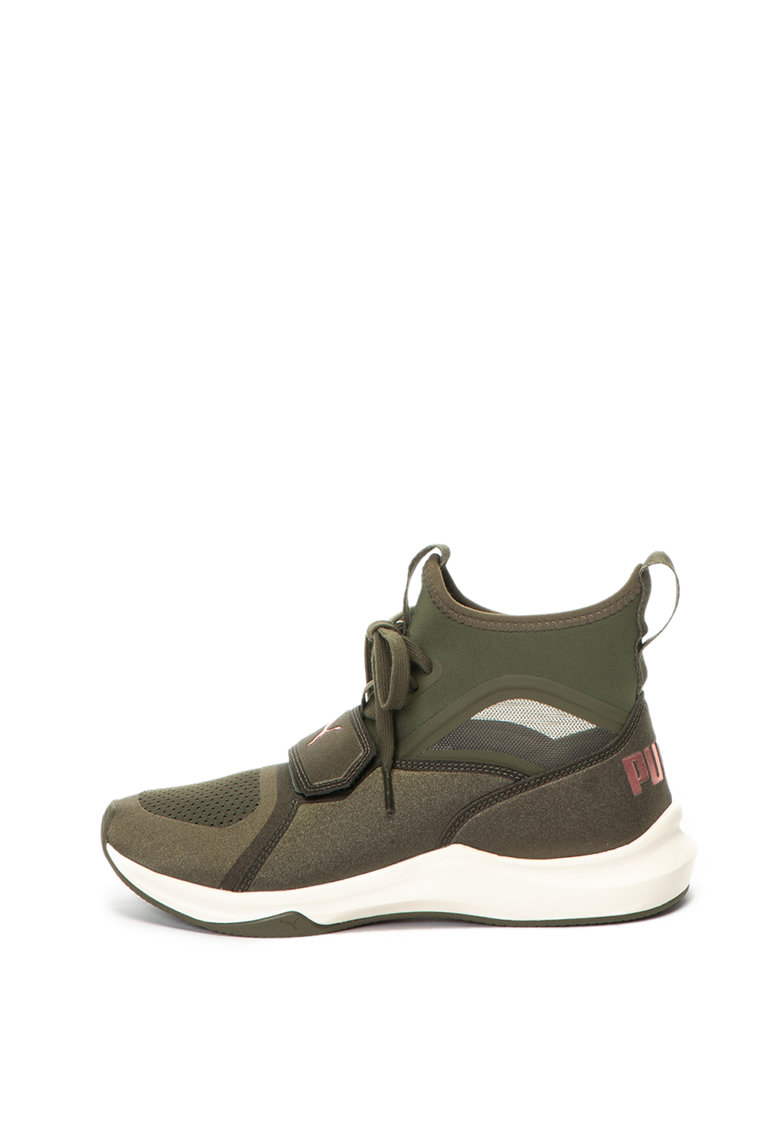 Pantofi sport high-top - cu insertii de plasa - pentru fitness Phenom