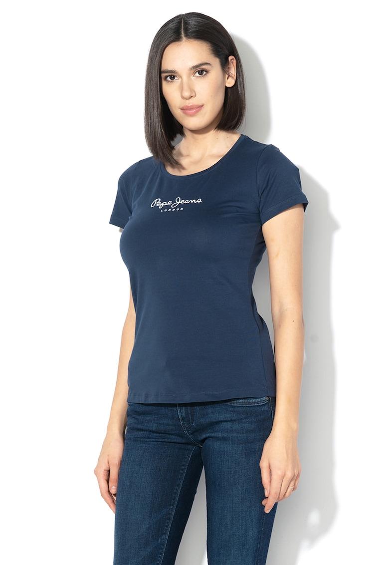 Tricou cu imprimeu logo Virginia imagine promotie