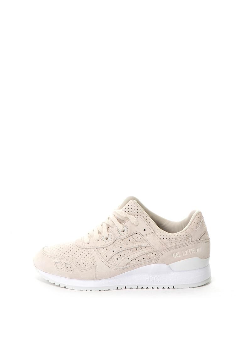 Pantofi sport unisex de piele intoarsa - Gel-Lyte III imagine
