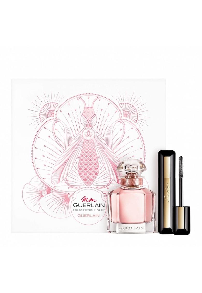Guerlain Set  Mon Guerlain Florale - Femei: Apa de Parfum - 50 ml + Mascara Cils d'Enfer 01 Noir - 8 -5 ml
