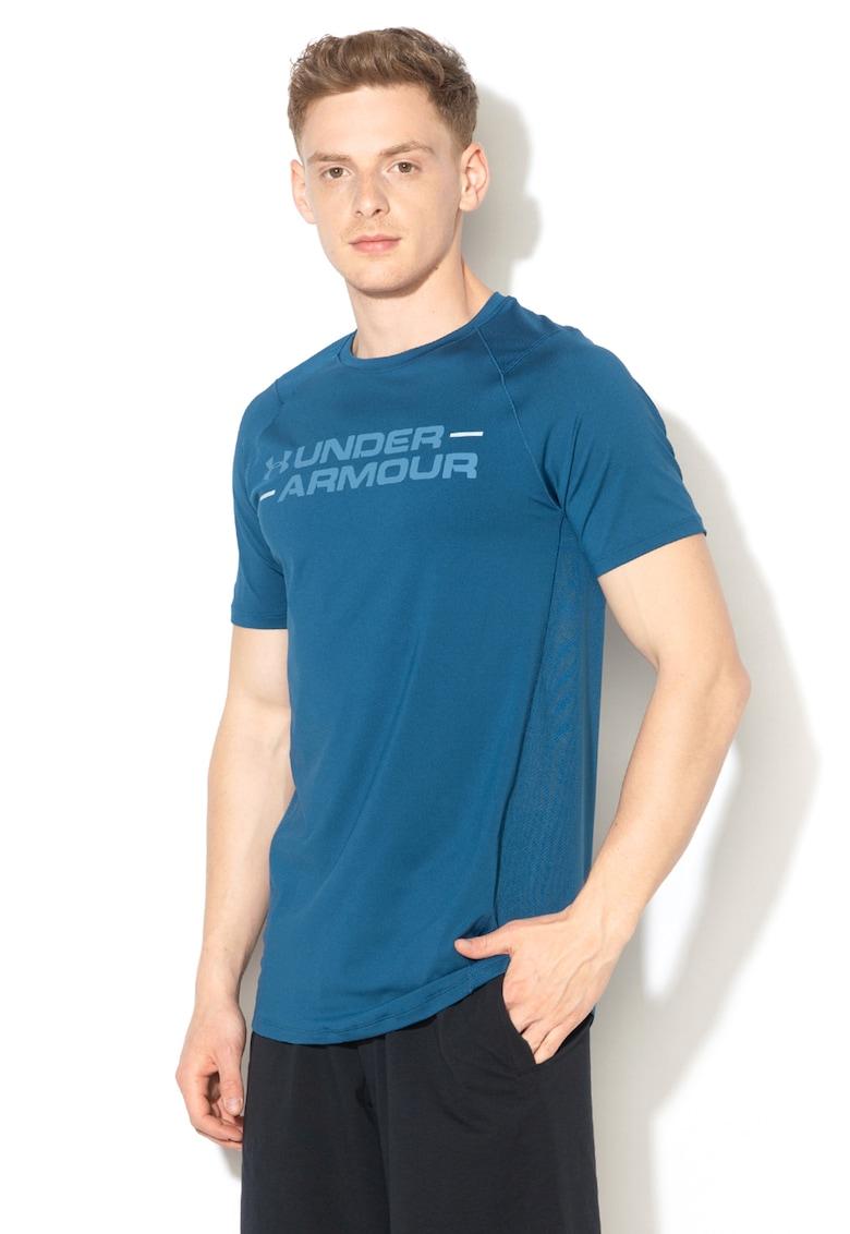 Tricou cambrat cu imprimeu logo – pentru fitness MK1 de la Under Armour