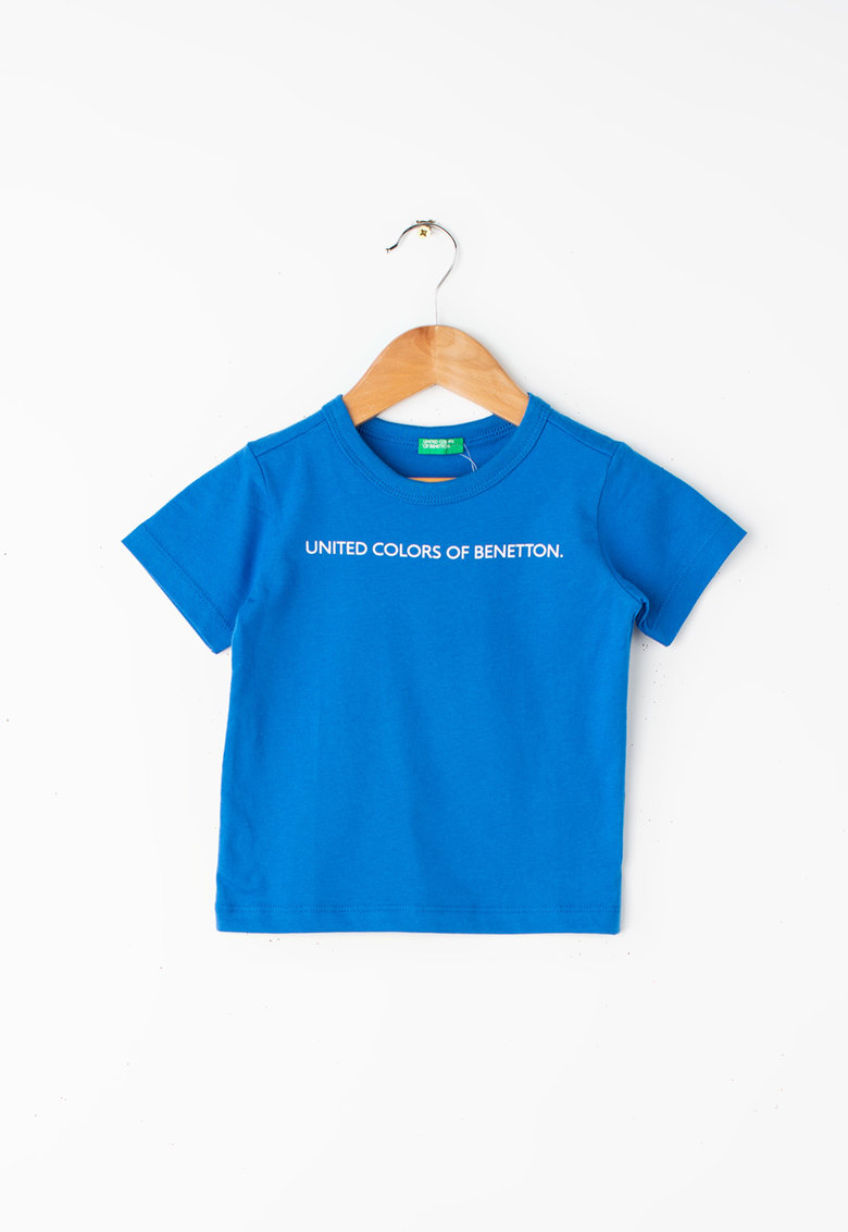 Tricou din bumbac organic United Colors of Benetton