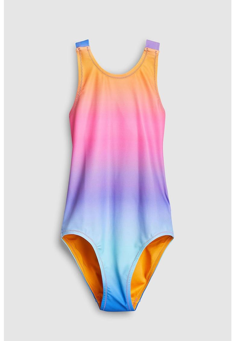 Costum de baie intreg cu model in degrade de la NEXT