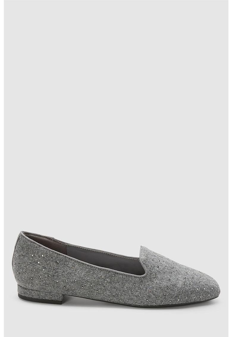 Pantofi loafer decorati cu nituri de la NEXT