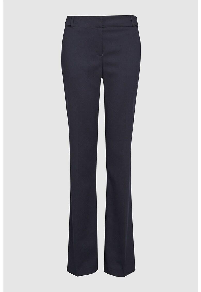 Pantaloni bootcut cu buzunare frontale NEXT