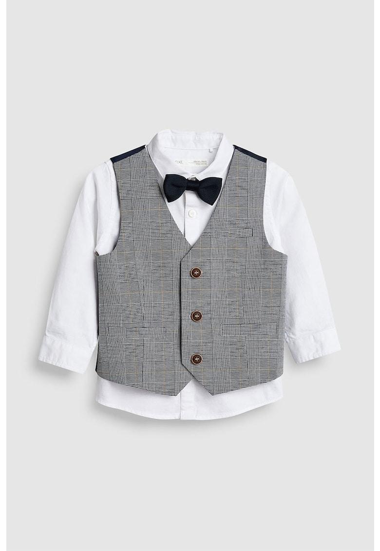 Set de camasa – vesta eleganta si papion – 3 piese de la NEXT