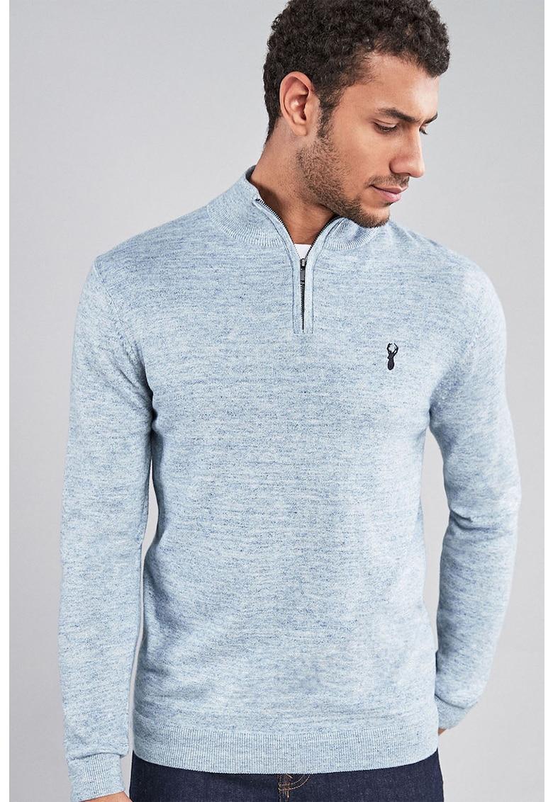 NEXT Bluza din tricot fin cu fenta cu fermoar