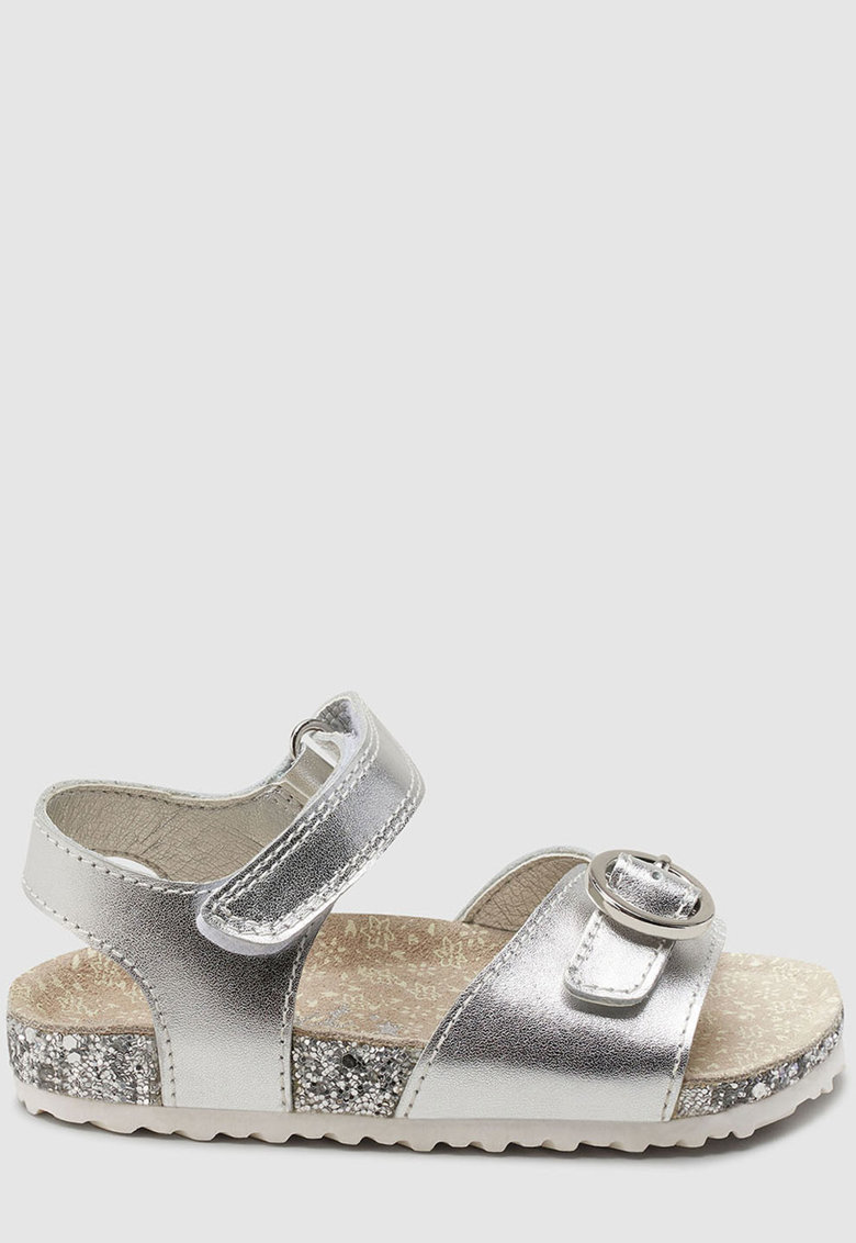 Sandale de piele cu bareta pe glezna NEXT