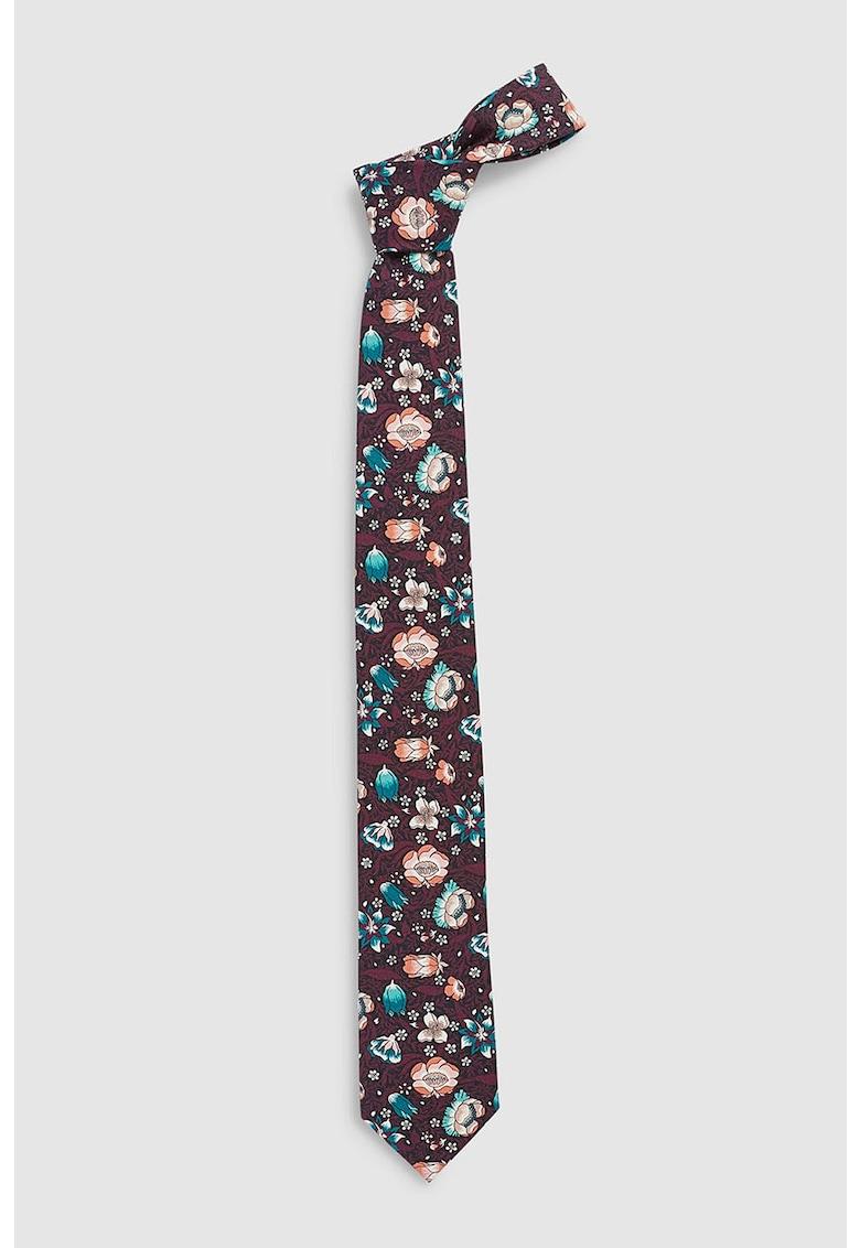 Cravata cu imprimeu