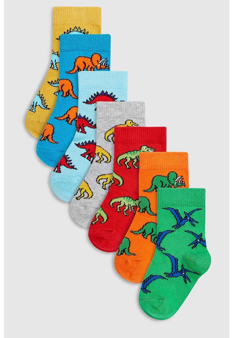 Set de sosete cu model dinozaur – 7 perechi de la NEXT