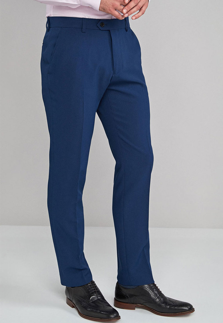 Pantaloni eleganti slim fit 130 de la NEXT