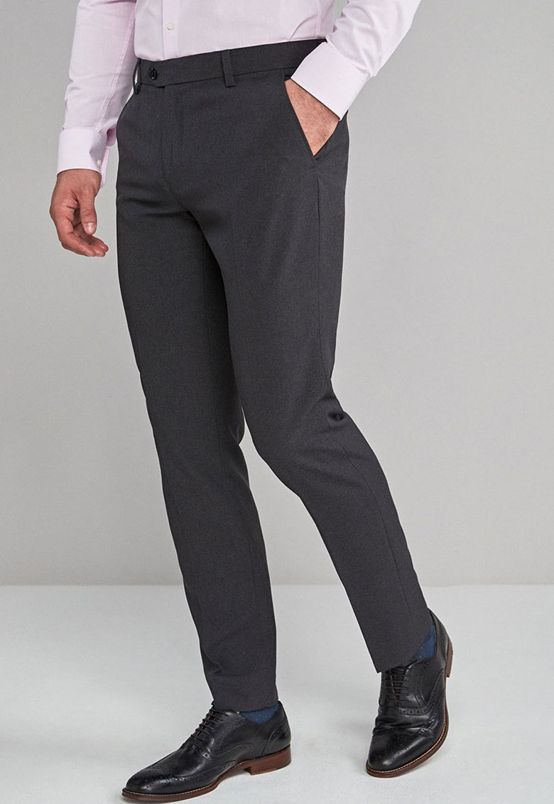 Pantaloni eleganti slim fit 132 de la NEXT