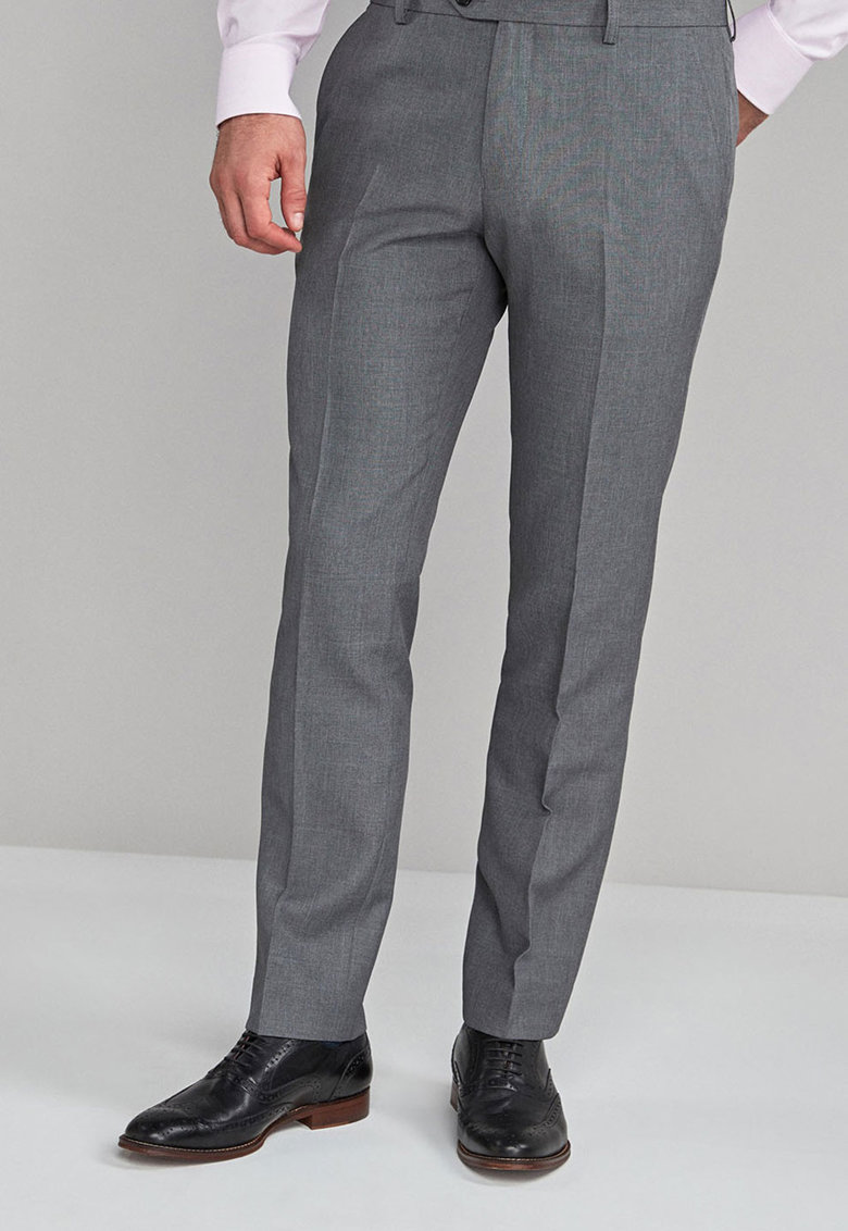 Pantaloni eleganti slim fit 133 de la NEXT
