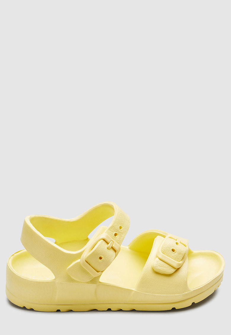 Sandale cu bareta la glezna - de cauciuc