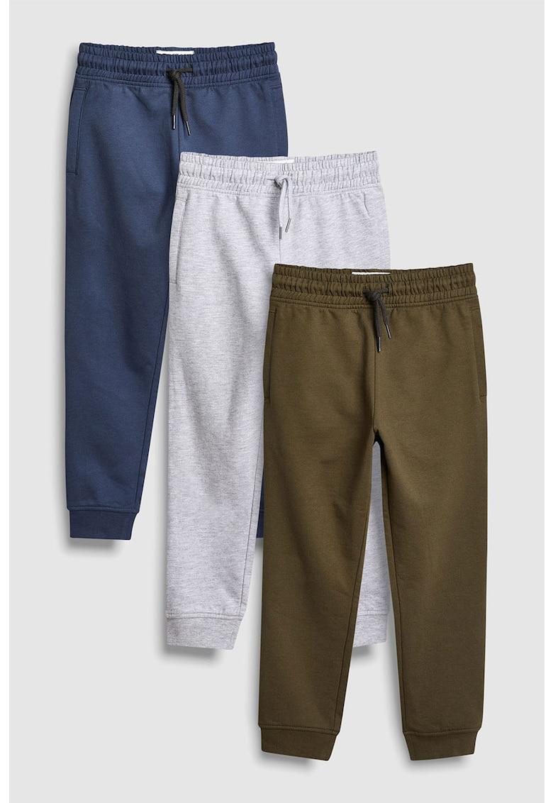 Set de pantaloni sport cu snur pentru ajustare – 3 piese NEXT