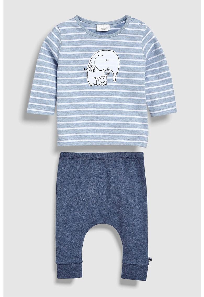 Set de bluza si pantaloni cu model – 2 piese de la NEXT