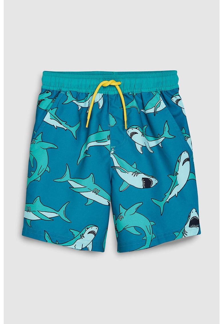 Pantaloni scurti de baie - cu imprimeu grafic