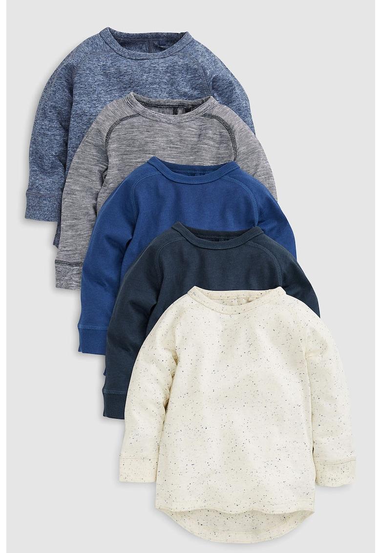 Set de bluze cu maneci lungi – 5 piese de la NEXT