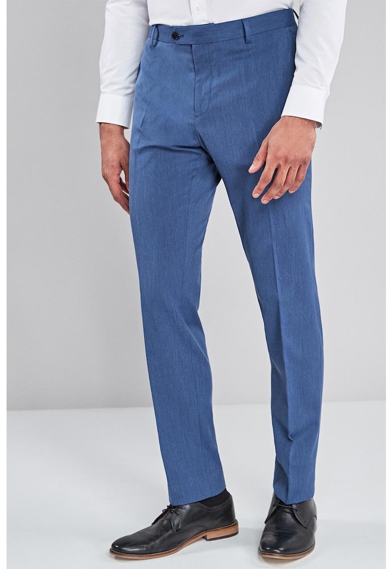 NEXT Pantaloni eleganti slim fit cu pensa