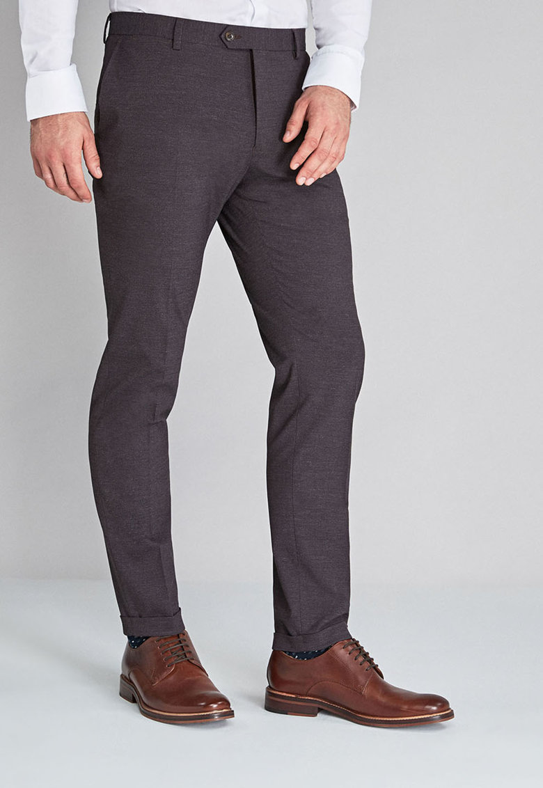 Pantaloni eleganti cu croiala skinny de la NEXT