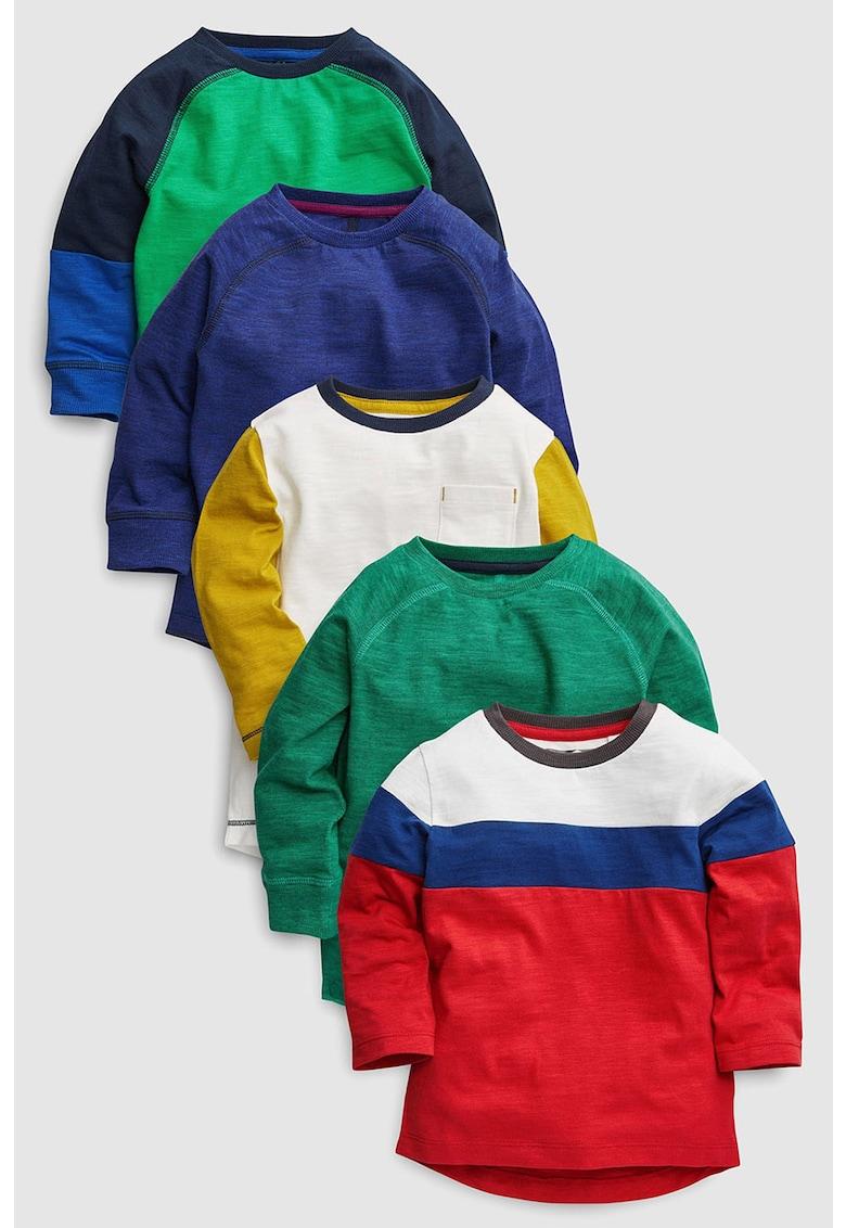 Set de bluza sport cu model colorblock – 5 piese de la NEXT