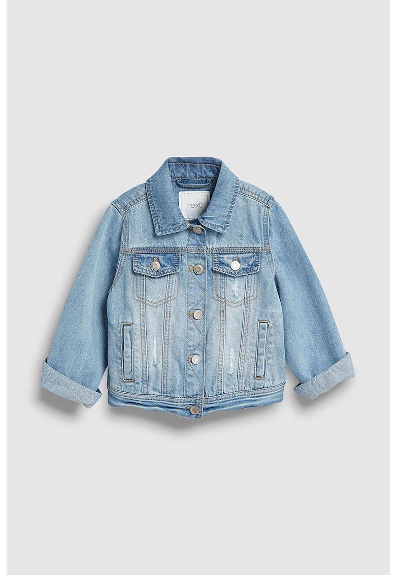 Jacheta din denim de la NEXT