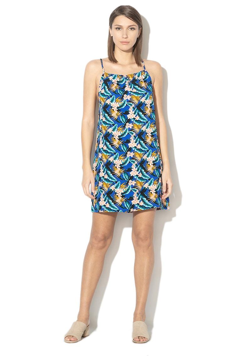 Rochie de plaja cu imprimeu tropical Summer