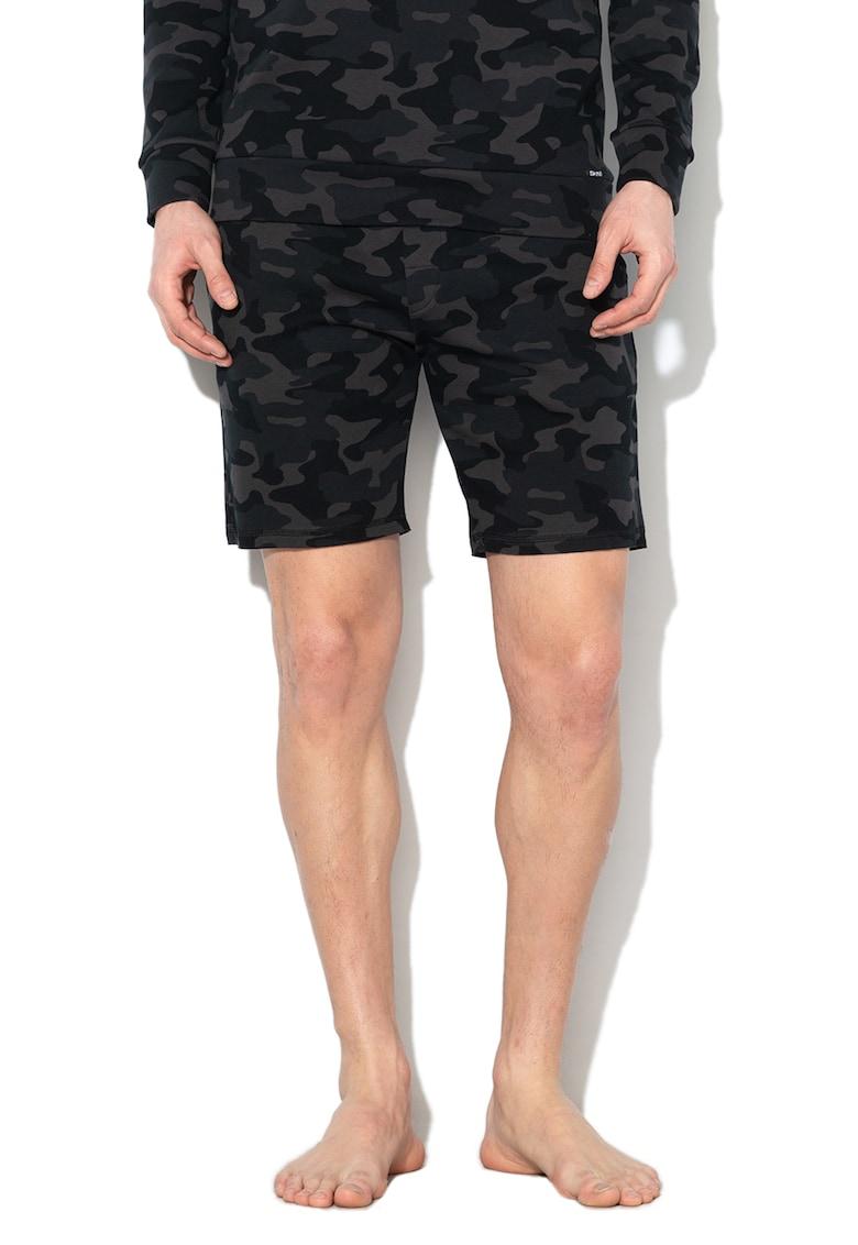 Skiny Pantaloni scurti de casa - cu imprimeu camuflaj