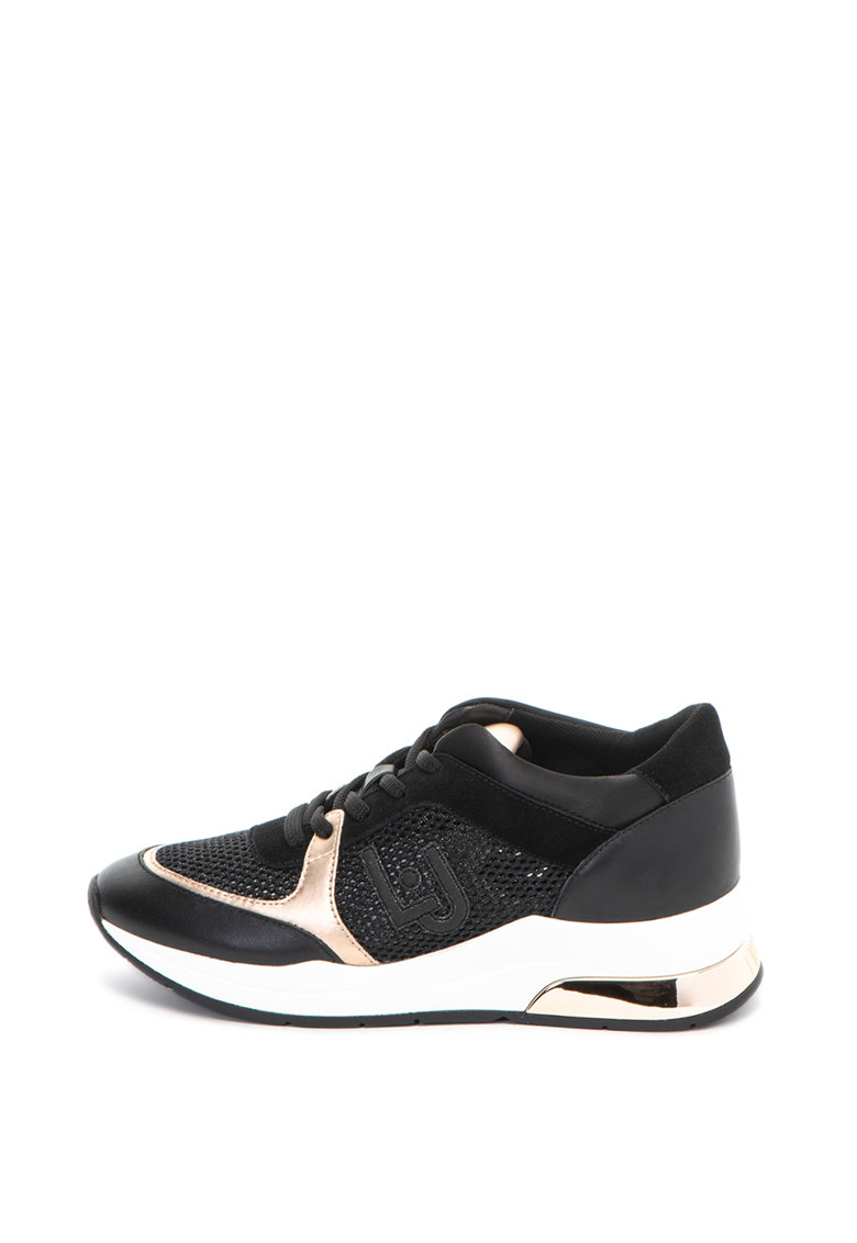 Pantofi sport cu insertii stralucitoare Karlie