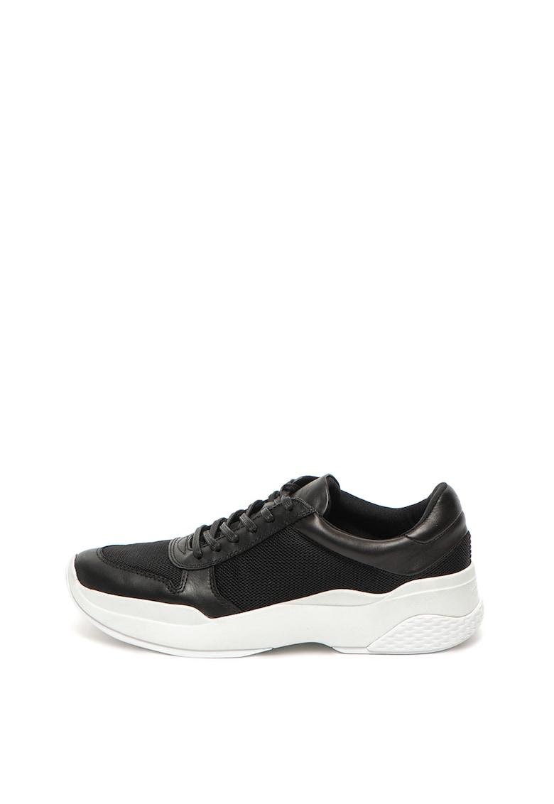 Pantofi sport de piele cu garnituri de plasa Lexy imagine