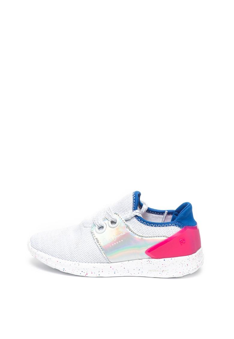Pantofi sport slip-on cu talpa cu pete decorative Jayden de la Pepe Jeans London