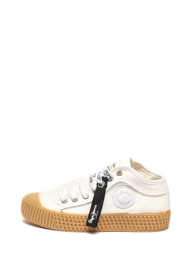 Pepe Jeans London Tenisi mid-high din material textil In-G