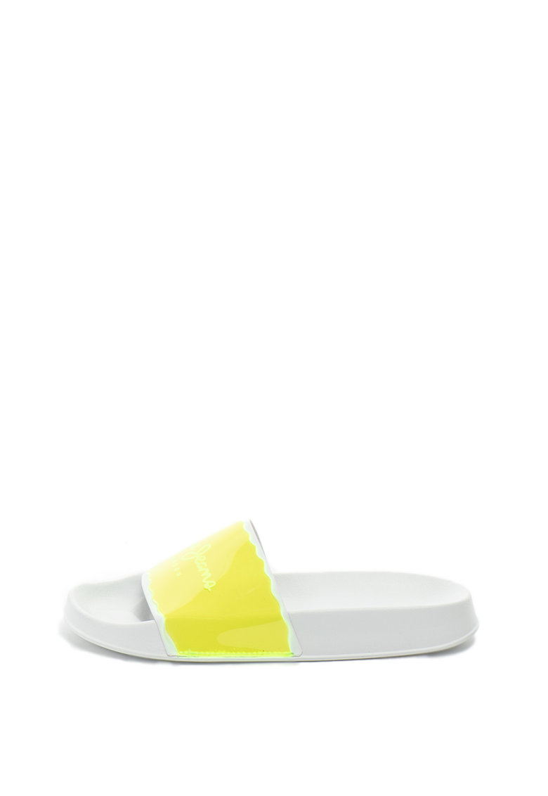 Papuci cu imprimeu logo Flap de la Pepe Jeans London