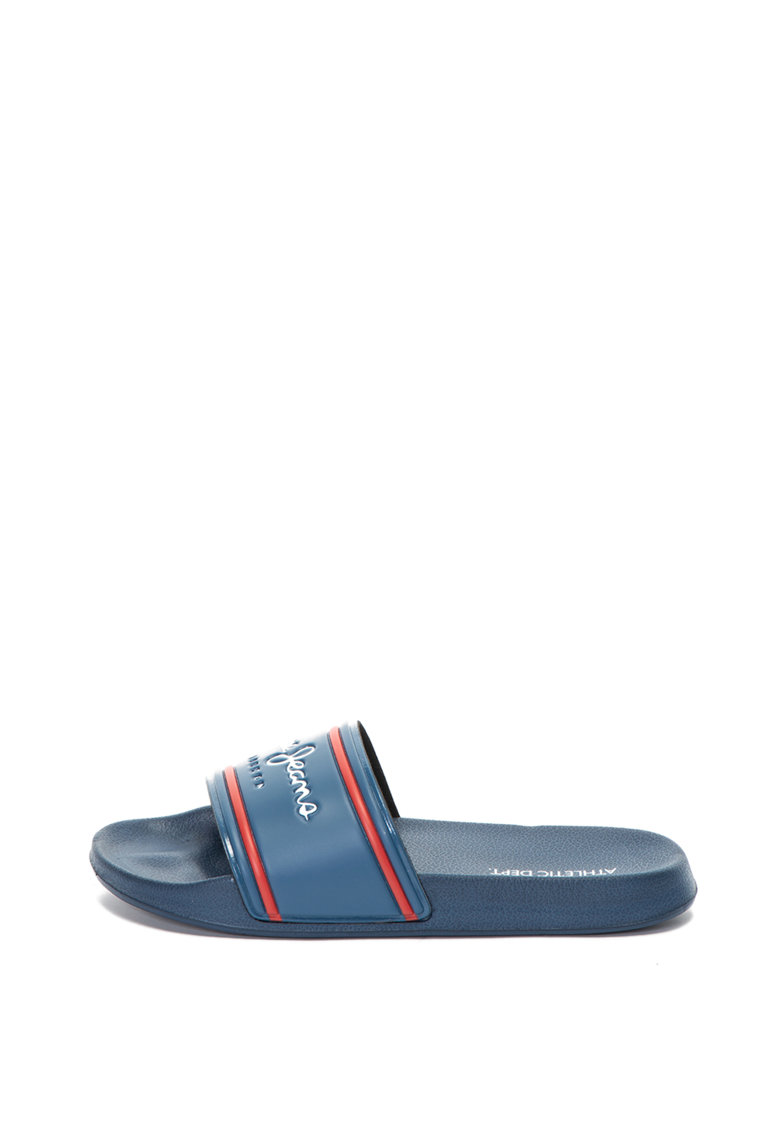 Papuci cu logo Slider de la Pepe Jeans London
