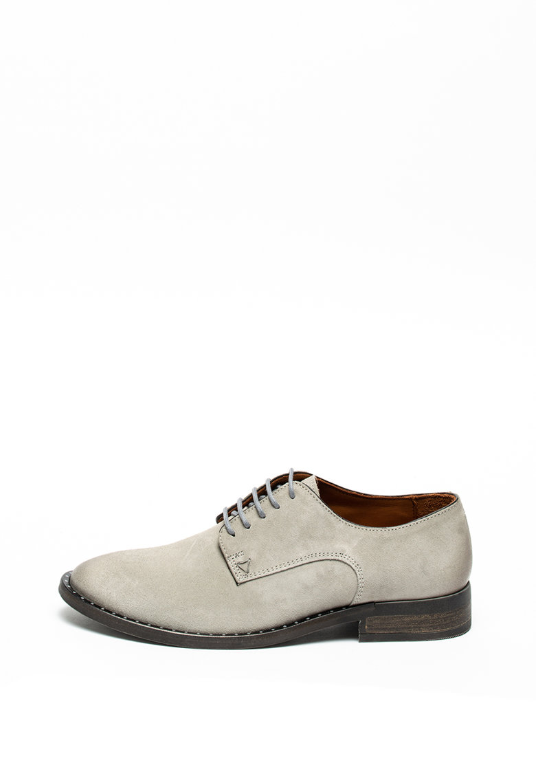 Pantofi derby de piele intoarsa de la Guess